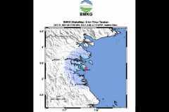Gempa tektonik dengan magnitudo 3,7 guncang Tarakan